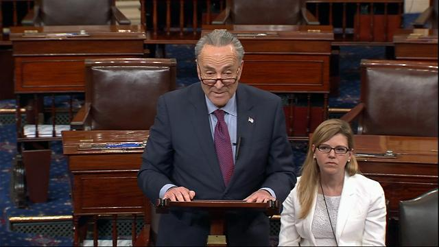 Schumer: 'Shaken' by New York Times Comey report