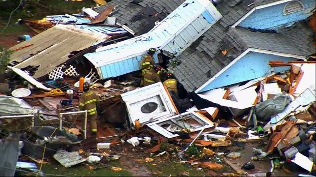 Raw: Oklahoma Tornado Kills At Least One Person