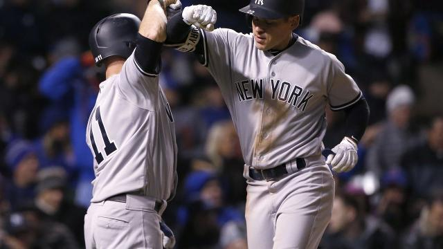 Yankees, Cubs set MLB strikeout record in 18-inning marathon