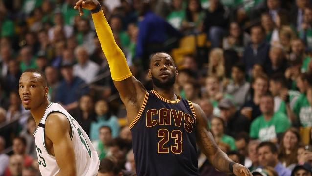 Cavs finish Celtics to set up NBA Finals rematch
