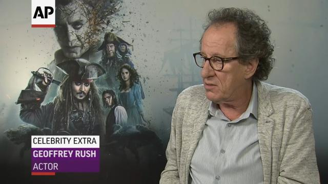 Geoffrey Rush, Javier Bardem discuss the success of the 'Pirates' franchise