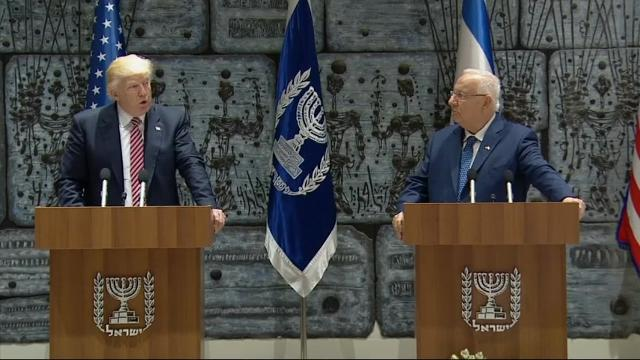 Trump Hopeful on Peace in Israel