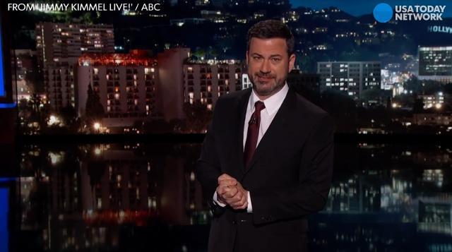 Jimmy Kimmel chokes up over newborn son's heart condition