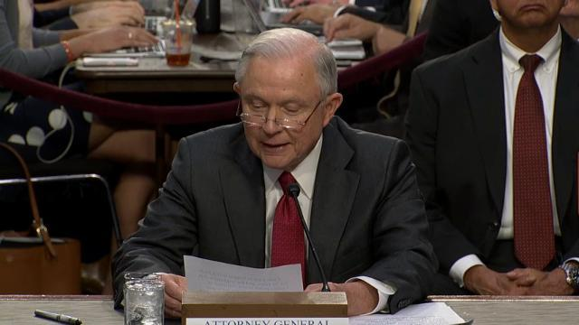 Sessions: Claims of Russian Collusion a 'Lie'