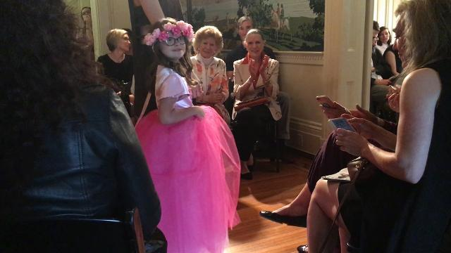 Kids with Down Syndrome strut their stuff in specialty clothes