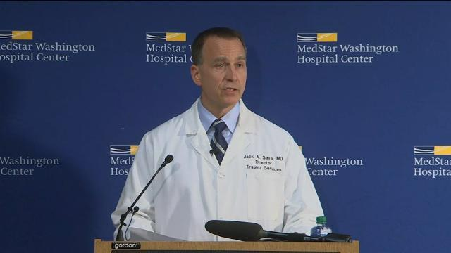 Doctor: Scalise Still Critical, But Improving