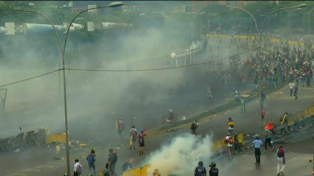 Protests Over Student Killed Continue in Caracas
