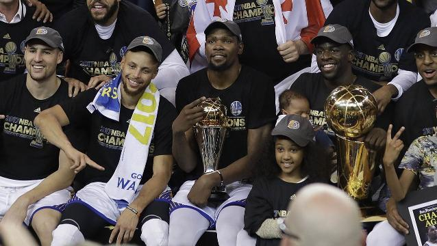 Warriors take down Cavaliers to reclaim NBA title