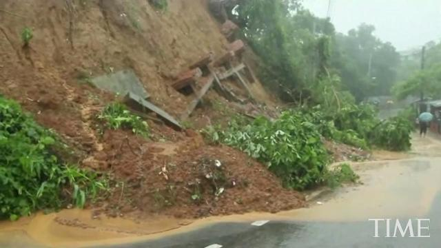 Landslides after heavy rains killed over 100 people in Bangladesh
