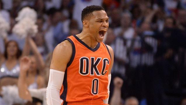 NBA awards: Russell Westbrook wins first MVP