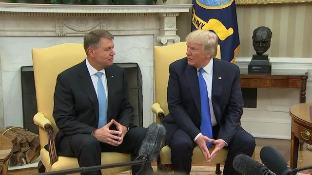Trump Meets With Romanian President