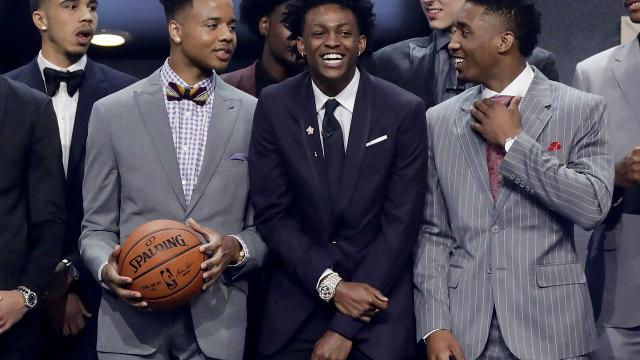 NBA draft fashion: Who wore it best?