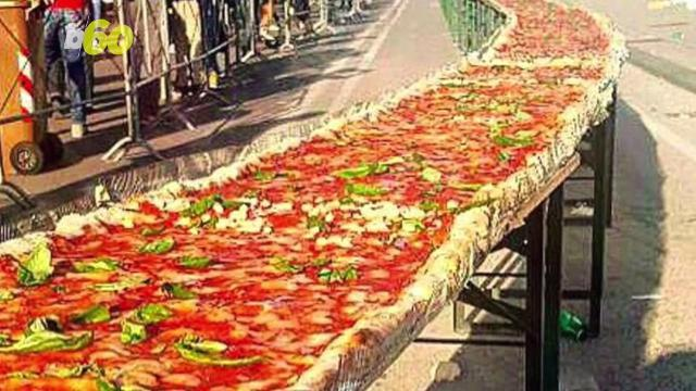 USA snatches 'Longest Pizza' title from Italy