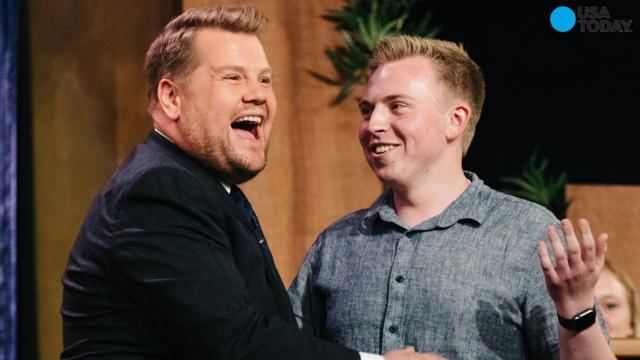 James Corden sends 297 copies of 'Philadelphia' to Trump