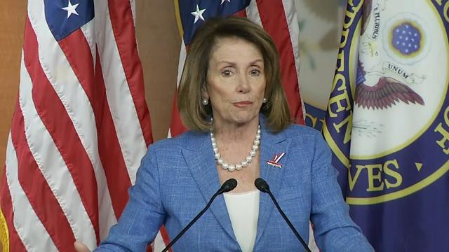 Pelosi Confident of Her Caucus' Support