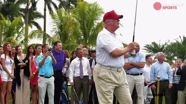 Is Trump the best presidential golfer of all time?