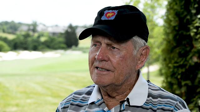 Jack Nicklaus talks about Tiger Woods
