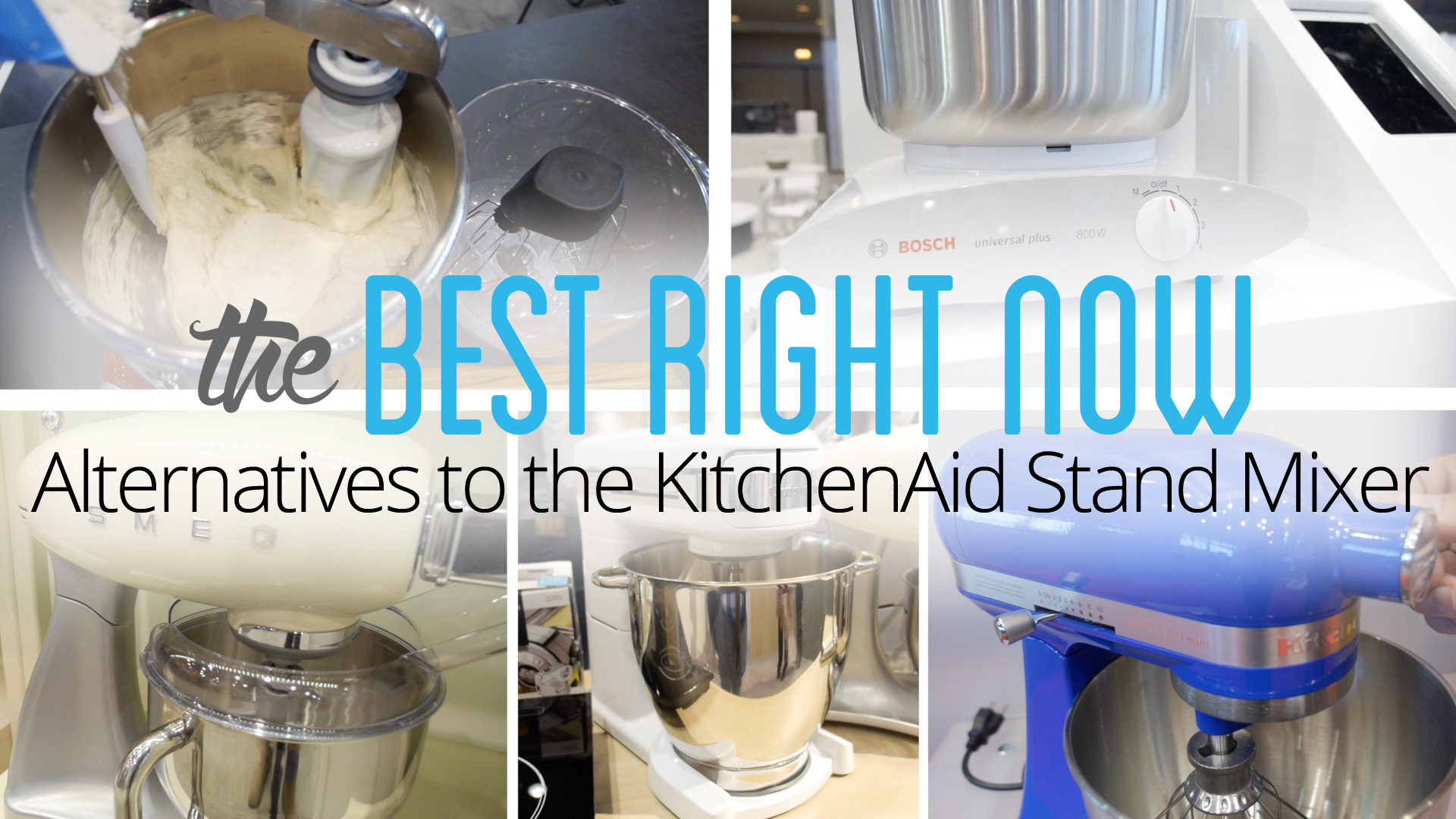 Best Alternatives to the KitchenAid Stand Mixer of 2018 - Reviewed