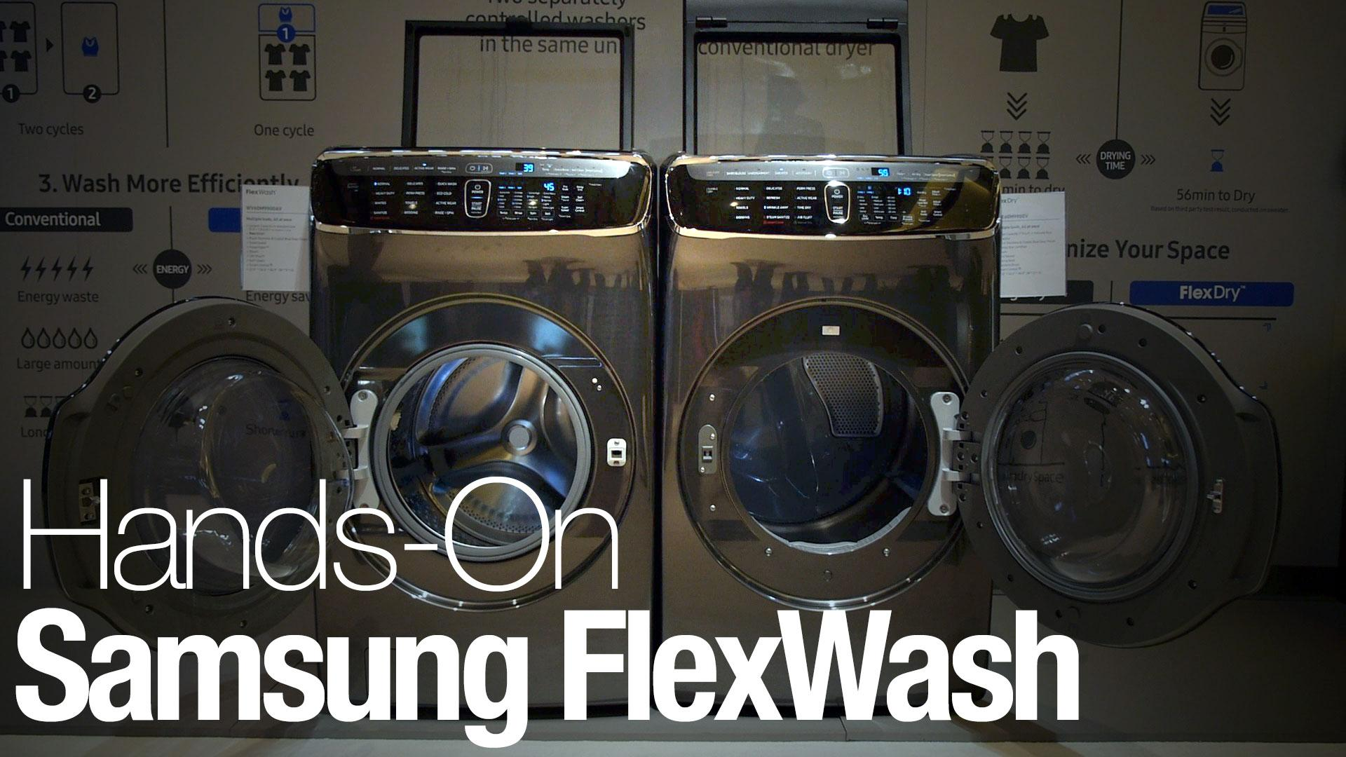 Samsung Cleans Up In 2017 With Flexwash And Flexdry Together Electric Clothes Dryer Additionally Maytag Laundry