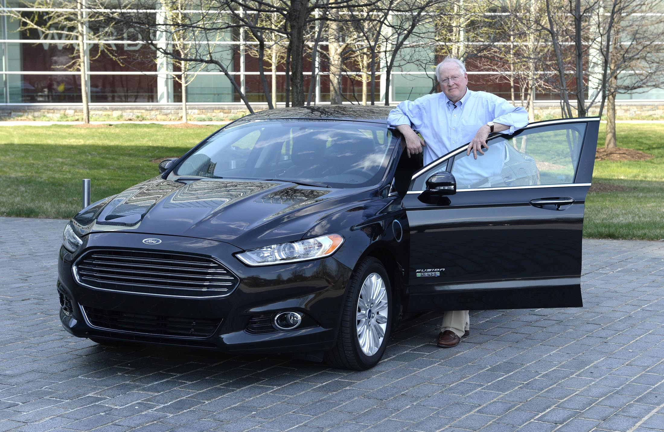 Test Drive Ford Fusion Energi Plug In Hybrid