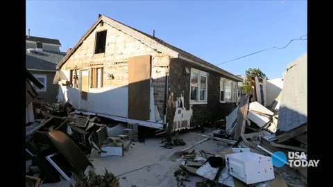 Sandy's wake: 50 years of living simply washed away