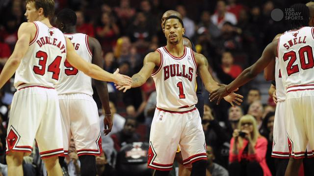 6a2e0477e937 Derrick Rose out for the season with torn meniscus