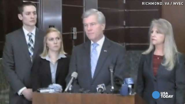 Ex-Virginia governor, wife indicted on corruption