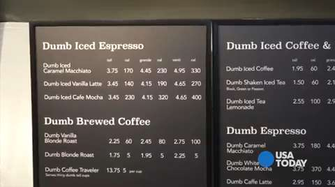 Starbucks Responds To Dumb Starbucks In L A