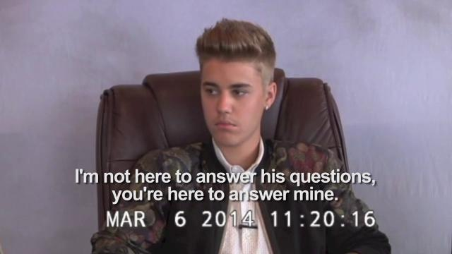 Watch Justin Bieber confused, angry at deposition