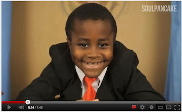 Kid President unveils plans for new show on Hub Network (VIDEO)
