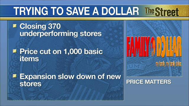The family Dollar stores are closing 370 locations and cutting jobs