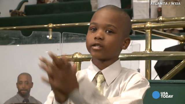 Boy sings gospel music until kidnapper releases him