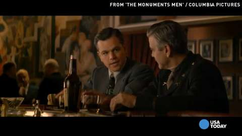 """Out on demand is """"The Monuments Men"""" which tells a fascinating history lesson with an outstanding cast. Kevin Costner makes a comeback in """"3 Days to Kill"""" and Jesse Eisenberg shines in """"The Double."""""""