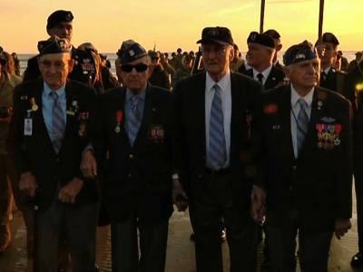 Obama honors D-Day at 'democracy's beachhead'