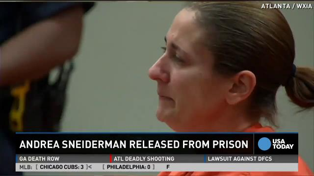 Andrea Sneiderman out of jail, helped others with GEDs
