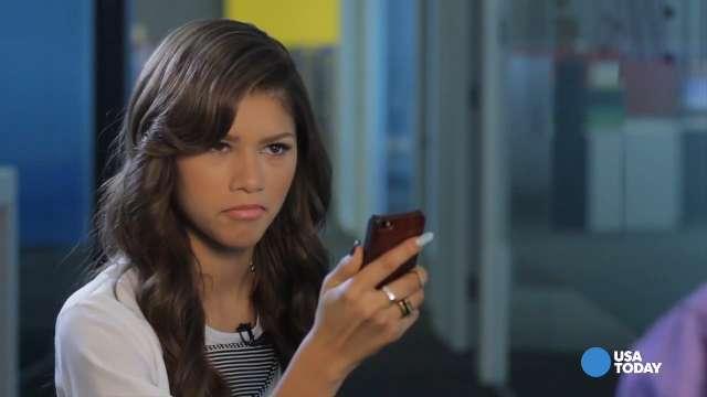Zendaya the 'selfie queen' gets dream app in 'Zapped'