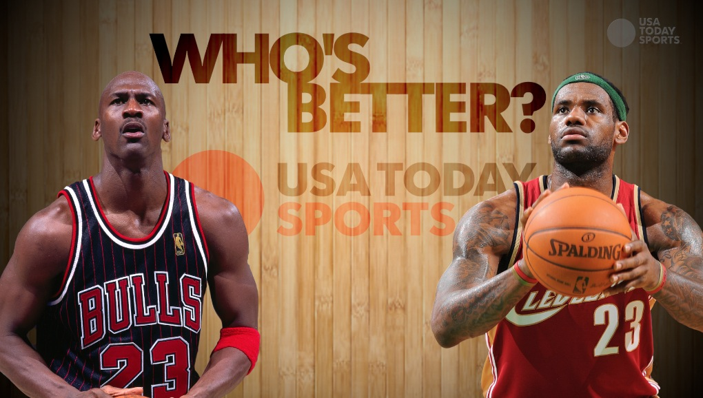 Who's better: Michael Jordan or LeBron James?