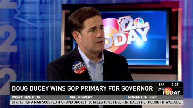 Doug Ducey reflects on primary win over Scott Smith