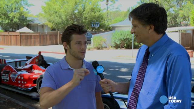 What does Marco Andretti think of driverless cars?