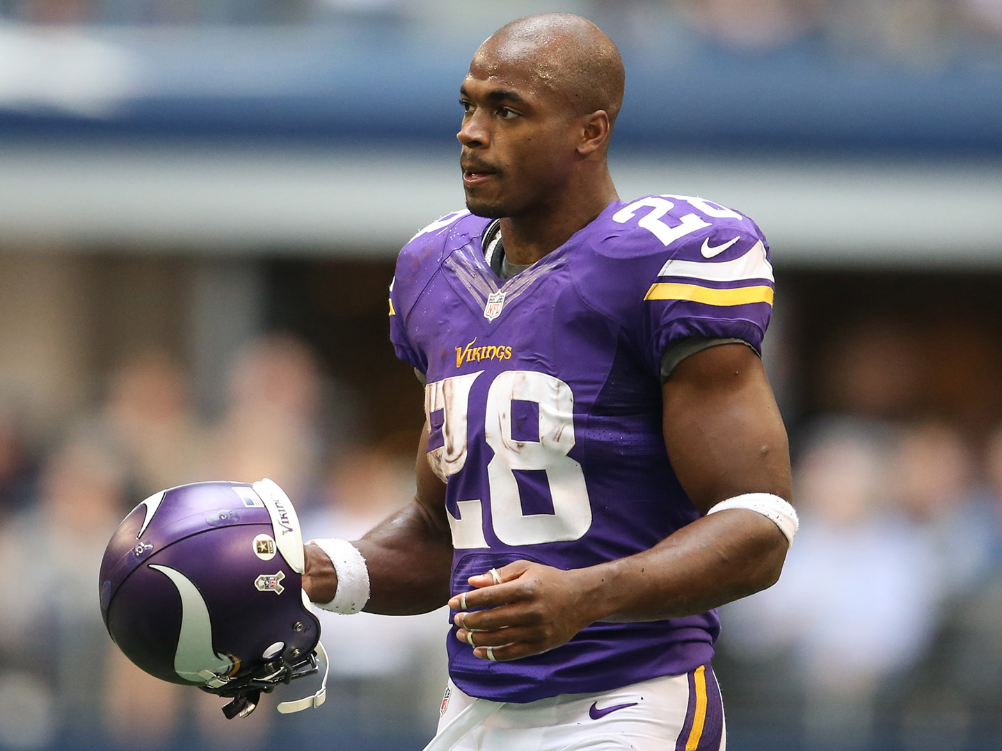 Adrian Peterson could be out for the season