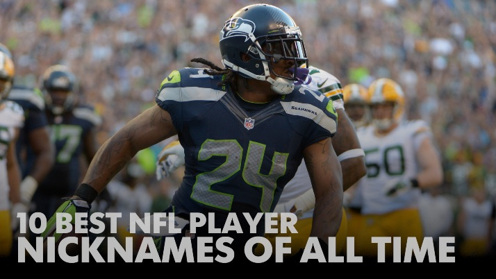 10 best NFL player nicknames of all time. Sep 24 2c989284e