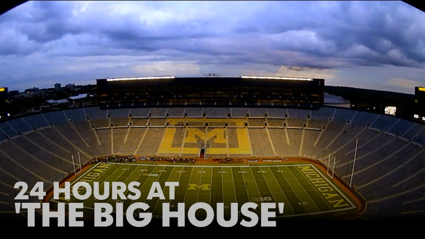 24 hours at 'The Big House'