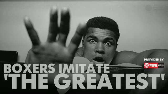 Boxers imitate famous Muhammad Ali quotes