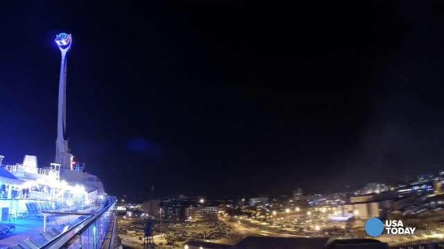 Quantum of the Seas sets sail for inaugural cruise