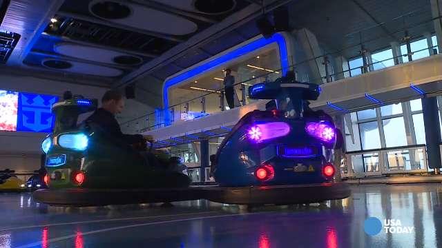 Quantum of the Seas' SeaPlex feature bumper cars, more