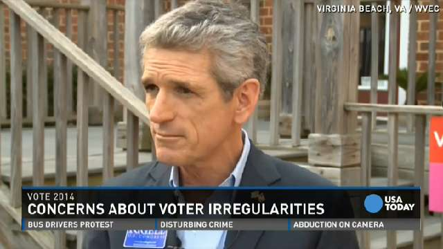 Voting machine problems anger Virginia candidate