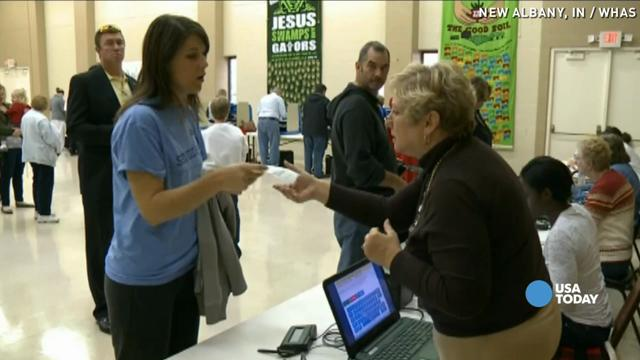 Polling problems turn some voters away in Indiana