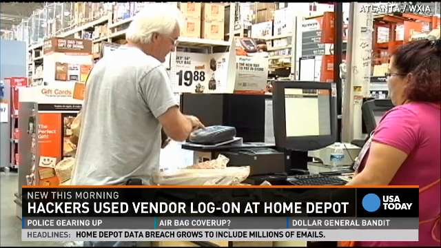 Home Depot hackers accessed 53 million e-mails