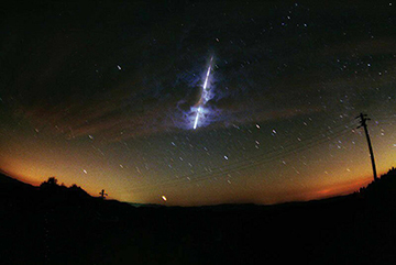 Watch Leonids streak the sky tonight