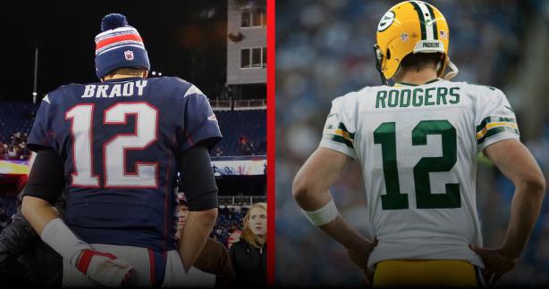 Brady vs. Rodgers: Who will triumph?